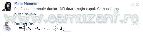 scris de doctor