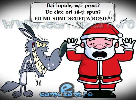 Lupul și Moș Crăciun - E amuzant