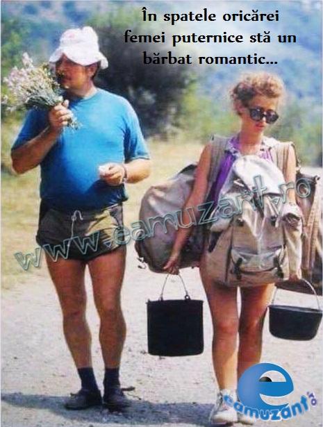 barbat romantic - femeie puternica