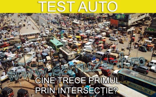 test-auto-cine-trece-primul-prin-intersectie